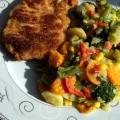 Schaboszczak z mieszanka warzywna