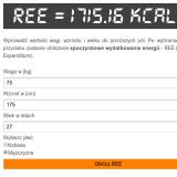 Resting Energy Expenditure calc