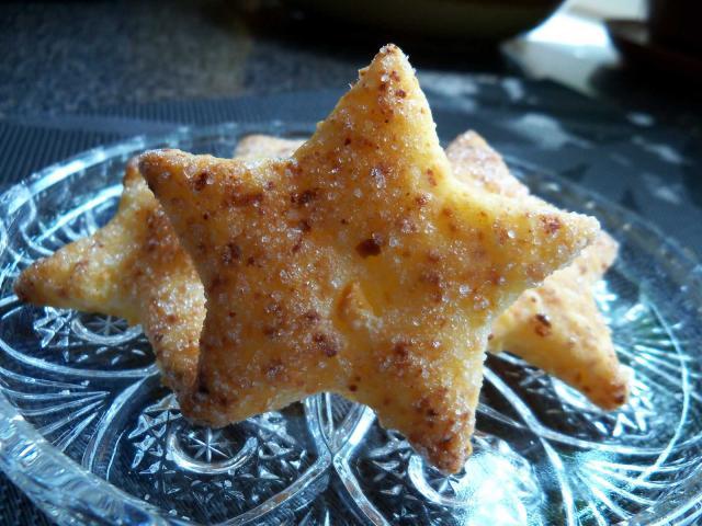 Ciasteczka serowe - gwiazdeczki