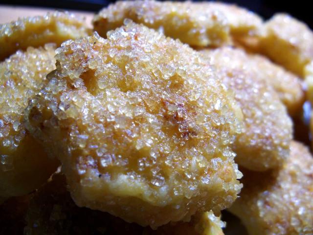Ciasteczka serowe zcukrem trzcinowym