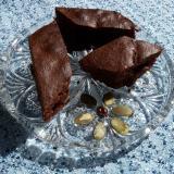Murzynek ciasto czekoladowe z bakaliami