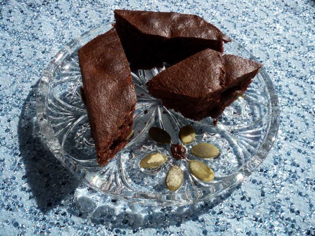 Murzynek ciasto czekoladowe zbakaliami