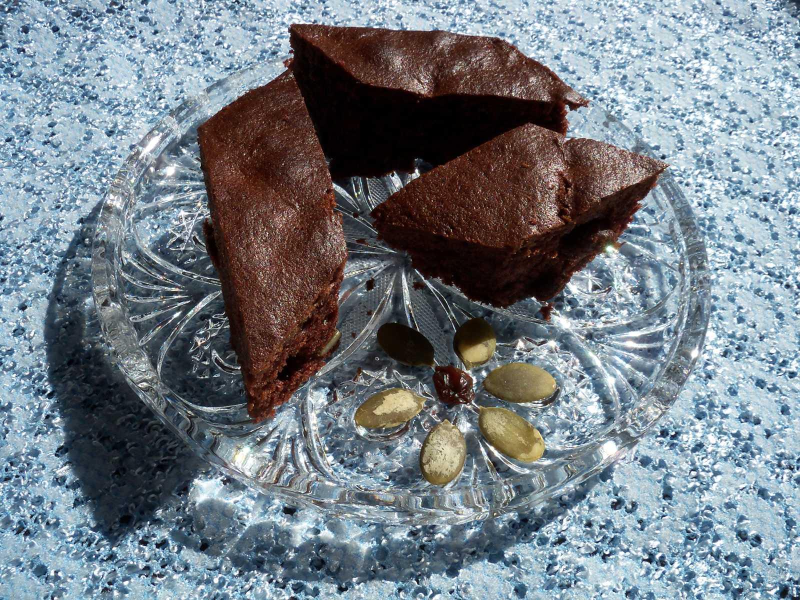 Murzynek zolejem — ciasto czekoladowe