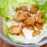 Kurczak curry wsosie czosnkowym