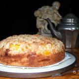 Brzoskwiniowe ciasto z kruszonka