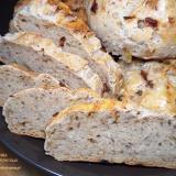 Pszenno-zytni chleb cebulowy