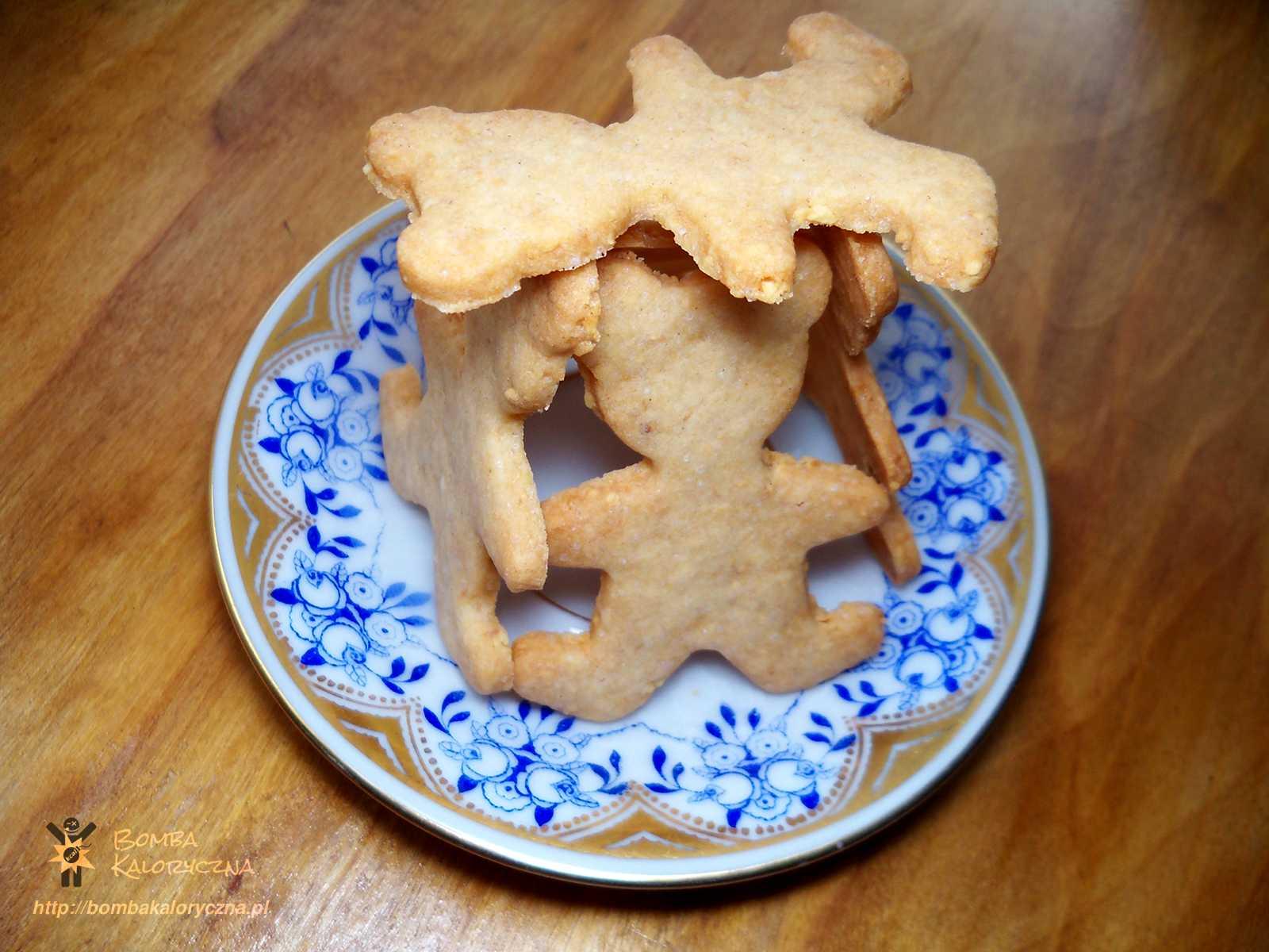 Ciasteczka orzechowe zorzeszkami ziemnymi