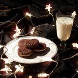 Ciasteczka czekoladowe z nadzieniem waniliowym