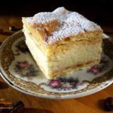 Karpatka - parzone ciasto z kremem budyniowym