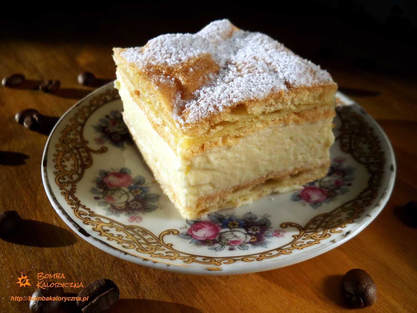 Karpatka —ciasto parzone zkremem budyniowym