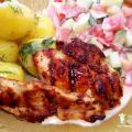 Pierś z kurczaka bez panierki - stek z kurczaka