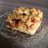 Szarlotka - placek z jabłkami - jabłecznik