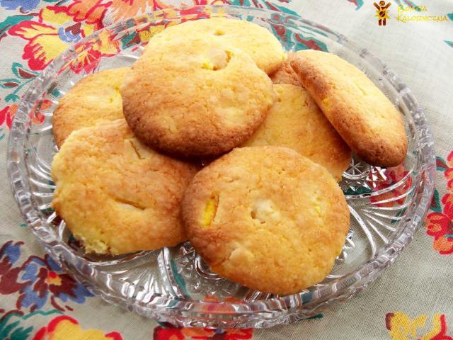Szybkie ciasteczka pomarańczowe - Kruche ciasteczka zeskórką pomarańczową